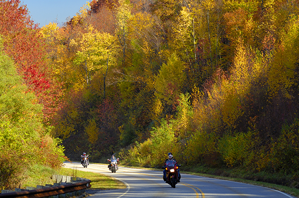 Cherohala Skyway in Peak Fall Colors