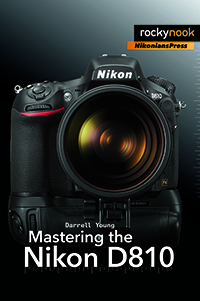 Mastering the Nikon D810 Cover 200px