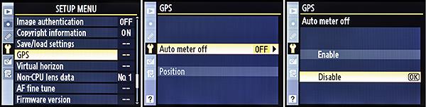 Auto Meter Off