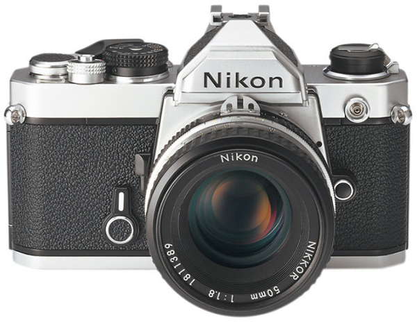 Nikon FM with AI-S Nikkor 50mm f/1.8 Lens