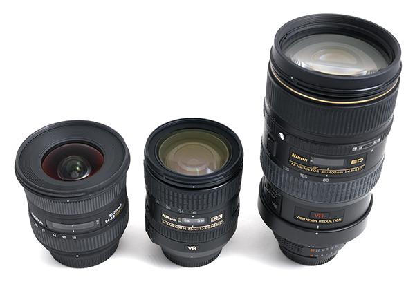 Three Lens Kit