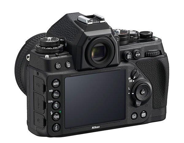 Nikon Df – rear view