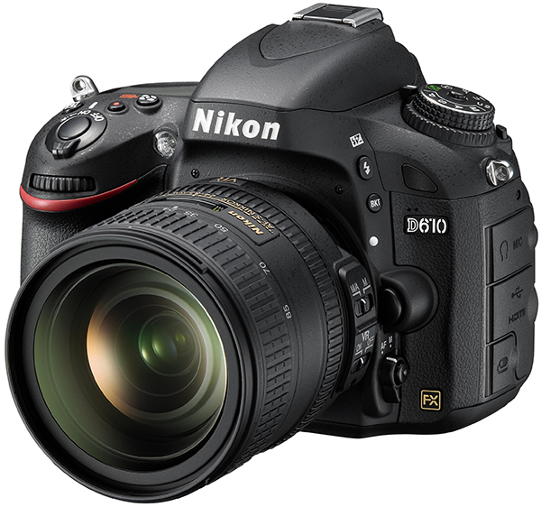 Nikon D610 with an AF-S Nikkor 24-85mm f/3.5-4.5G ED VR Lens