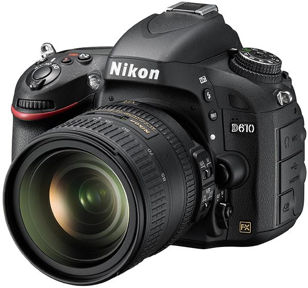 Nikon D610 with an AF-S Nikkor 24-85mm f/3.5-4.5G ED VR Lens