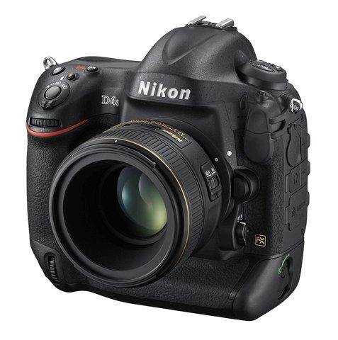 Nikon D4S: Front Top View