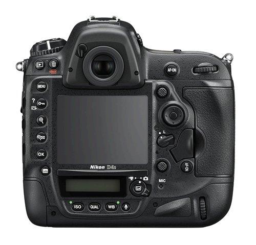 Nikon D4S: Back VIew