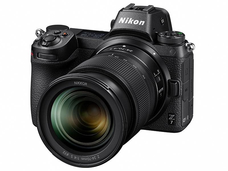 Nikon Z7 Front View