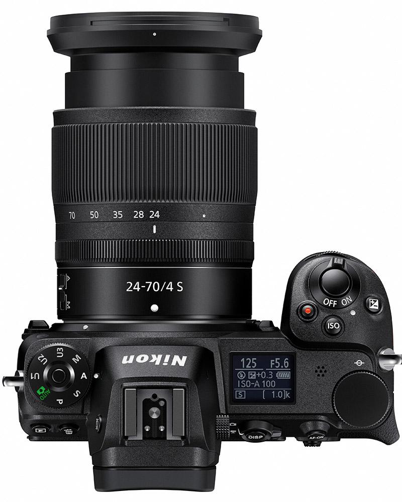 Nikon Z7 Top View