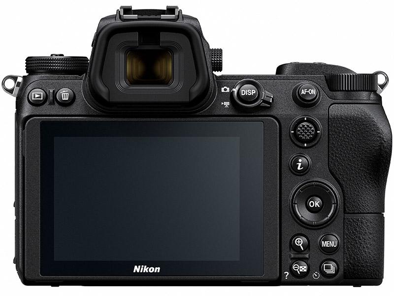 Nikon Z7 Back View